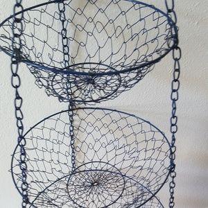 3 tier hanging fruit or veggi baskets